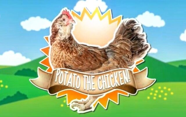 "You can see ""Lori"" as Potato the Chicken in Season One of @shaftesburykids The Clear Water Kids Challenge. We were lucky enough to be back this year for Season Two with Lori and some of her farm friends."