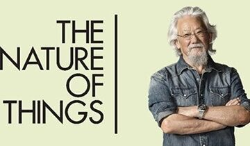 "Catch us on ""The nature of Things"" with David Suzuki !"