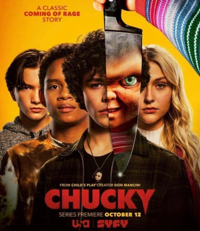 Check out @chuckyisreal October 10th! Keep your eyes peeled for some of creepy and stinky critters!